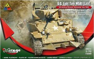 Mirage Hobby 726088 - 1:72 U.S.Lumière Réservoir M5A1 (Guides) - Neuf