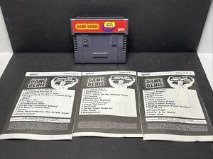 Galoob Game Genie Video Game Enhancer For SNES Super Nintendo W/ A Few Mailers