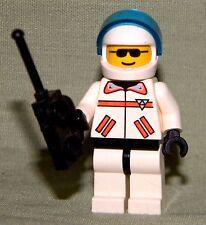 Lego RES Q EMERGENCY EVAC LOOSE From 6445 Set Mini-Figure R.E.S. Q