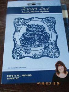 Love is All Around Tapestry Die Cut