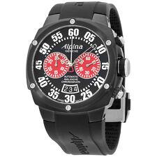Alpina Avalanche Extreme Black Dial Silicone Strap Men's Watch AL850BR4FBAE6