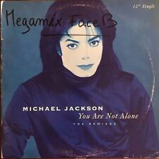 "Michael Jackson - You Are Not Alone - The Remixes - Vinyl  12"" Single"