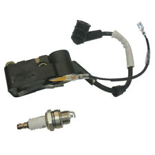 Ignition Coil W/ Spark Plug For Chinese Chainsaw 45cc 52cc 58cc 4500 5200 Parts