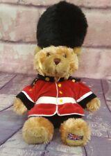 "Keel Toys Guard Royal Palace Guardsman Teddy Bear Plush Soft Toy Stuffed 10"""