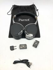 Parrot Zik Headband Wireless Headphones - Black W/extra Battery, WORKING!