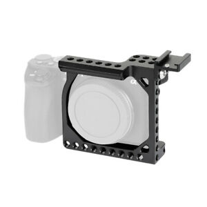 Compact Camera Cage Rig Shoe Mount Adapter For Sony A6500 A6600 Canon EOS M