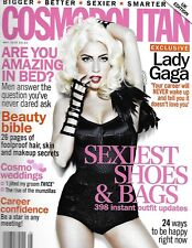 Cosmopolitan Magazine Lady Gaga Sexy Shoes And Bags Makeup Skin Secrets 2010  `