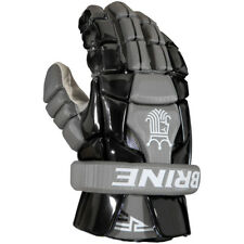 BRAND NEW WITH TAGS MENS BRINE WARRIOR RP3 LACROSSE GLOVES BLACK RP3GS16BKL $120