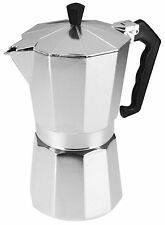 Alluminium 12 Cup Espresso Maker Continental Stove Top Coffee Machine 700ml New