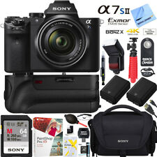 Sony a7S II Full-frame Mirrorless Camera w/ FE 28-70mm Lens + 64GB Super Bundle