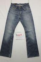 Lee Denver (Cod. D669) Tg.44  W30 L36  jeans usato orlo rifatto vintage zampa.
