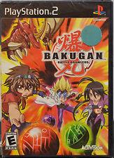 Bakugan Battle Brawlers (Sony PlayStation 2, 2009) PS2 Video Game