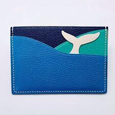 Handmade Calf/sheep Skin Petit H Wallet Credit Card Holder Free Shipping