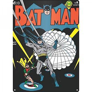 Batman Parachute metal sign 400mm x 300mm (hb)