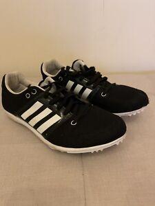 Black Adidas Running Spikes 5