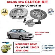 Para Mercedes Benz CLK (C209) 220CDi 2005-2009 Nuevo 3-Piece Kit de Embrague +