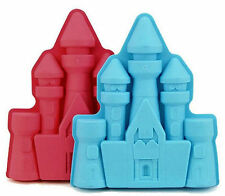 Castle Princess Blue Silicone Mold Pan