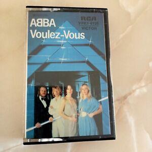 ABBA.. VOULEZ VOUS.. TAPE VPK 4135