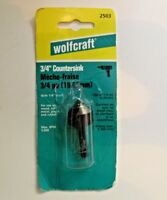 "Wolfcraft 3/4"" Countersink 2503 Made in Germany"