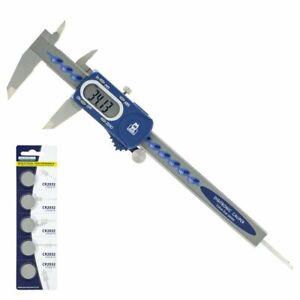Moore and Wright Digital Caliper Standard MW110-15DBL 0-150mm 6-0 inch