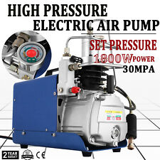110V 30MPa Electric Air Compressor Pump PCP 300BAR 4500PSI Auto Shut YONG HENG