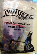 The Lego Ninjago Movie - #6 Holographic Cup 2017 McDonalds Happy Meal Toy