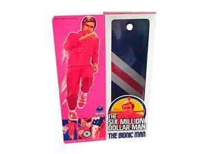 Kenner Six Million Dollar Man Figure Repro Box