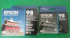 06-2019 GENUINE Epson Ink 98 T098120BCS ARTISAN 700 710 725 800 810 835 837