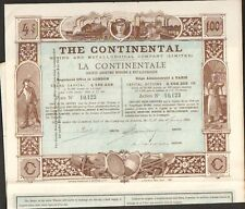 DECO => THE CONTINENTAL, Mining & Mettalurgical Cy (H)