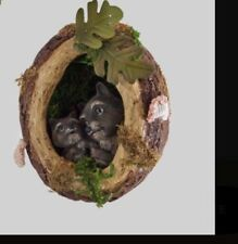 Katherine's Collection Into The Woods Acorn W/ Raccoon 7� Ornament 28-728621