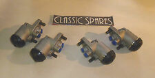 AUSTIN HEALEY 100/6 1956-60 NEW SET OF 4 FRONT WHEEL BRAKE CYLINDER