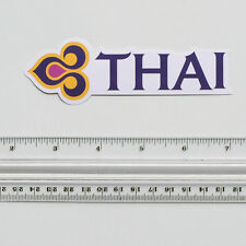THAI Airways Travel Thailand Flight Logo Airline Luggage Label Decal STICKER