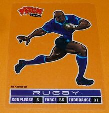 Classic card rugby pitch classical team panini 2011 sports pasquier