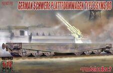 Modelcollect 1/72 Germany Schwerer Plattformwagen Type SSYMS 80
