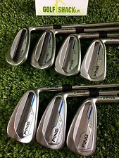 "Ping I E1 Irons 4-Pw Green Dot 1"" Long with Project X 6.5 X Flex Shafts (1885)"