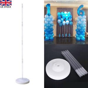 Balloon Column Arch Base Pole Stand Display Kit Wedding Party Decor Supplies DIY
