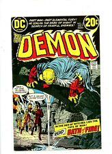 """1972 DC Comics """"The Demon"""", # 2 to # 4, U-Pick the issue,  FN/VF ,BX52"""
