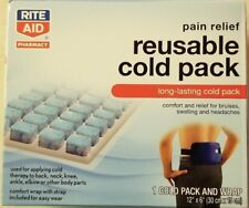 RITE AID Reusable Cold Pack Includes Comfort Wrap with Strap