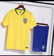 Brand New Brasil Soccer sports Team jersey Sets Adult L