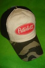 PETERBILT HAT:     VINTAGE CAMO CAP    *FREE SHIPPING TO ALL OF THE U.S.A.*