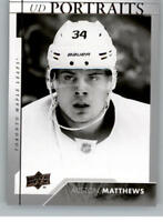 2017-18 Upper Deck Portraits Series One Pick From List