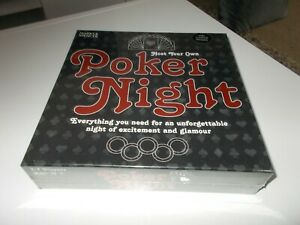 HOST YOUR OWN POKER NIGHT By Marks & Spencer Games NEW & SEALED