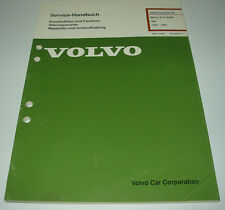 Werkstatthandbuch Volvo 340 343 345 360 Motor B 19 B 200 / B19 / B200 1981 - 91