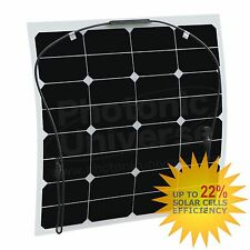 50W flexible solar panel made of back-contact cells with durable ETFE coating