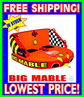 SPORTSSTUFF BIG MABLE Tube Towable 2 Rider NEW FAST SHIPPING 53-2213
