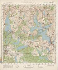 Russian Soviet Military Topographic Maps - ZLOCIENIEC (Poland), 1:50000, ed.1981