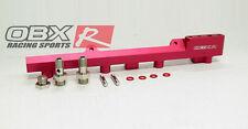 OBX Red Hi-Flow Fuel Rail Fit 1994 95 96 97 98 99 00 2001 Integra 1.8L B18B B18C