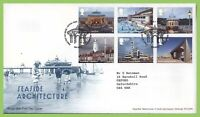 G.B. 2014 Seaside Architecture set on Royal Mail First Day Cover, Tallents House