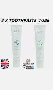 2 x 100% Genuine NU Skin AP 24 Whitening Fluoride Toothpaste Bargain UK Seller