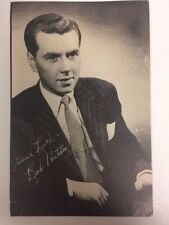 ROBERT BOB HUTTON vintage postcard 1940s Hollywood movie star actor RP